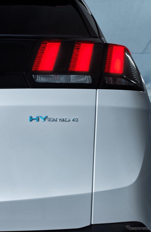プジョー 3008 GT ハイブリッド4《photo by Peugeot》