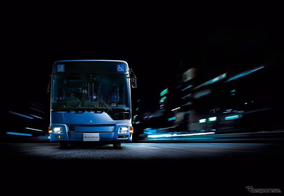「エアロスター」2019年モデル(撮影用特別仕様車)《写真 三菱ふそうトラック・バス》