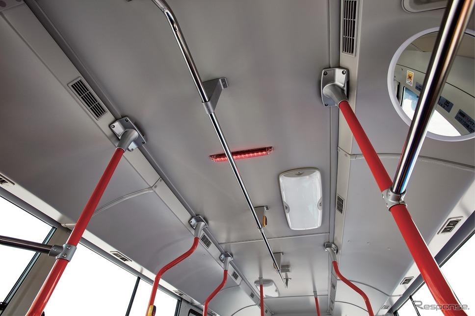 ドライバー異常時対応システム(EDSS)《写真 三菱ふそうトラック・バス》
