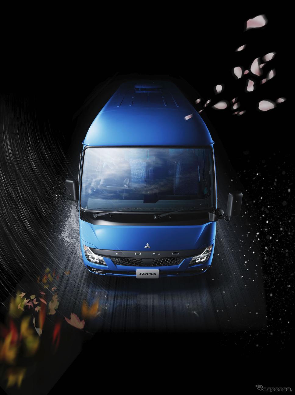 三菱ふそうローザ2019年モデル《写真 三菱ふそうトラック・バス》