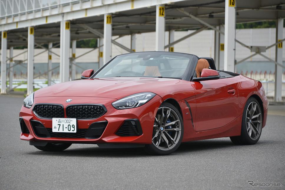 BMW Z4 新型(M40i)《撮影 平川亮》
