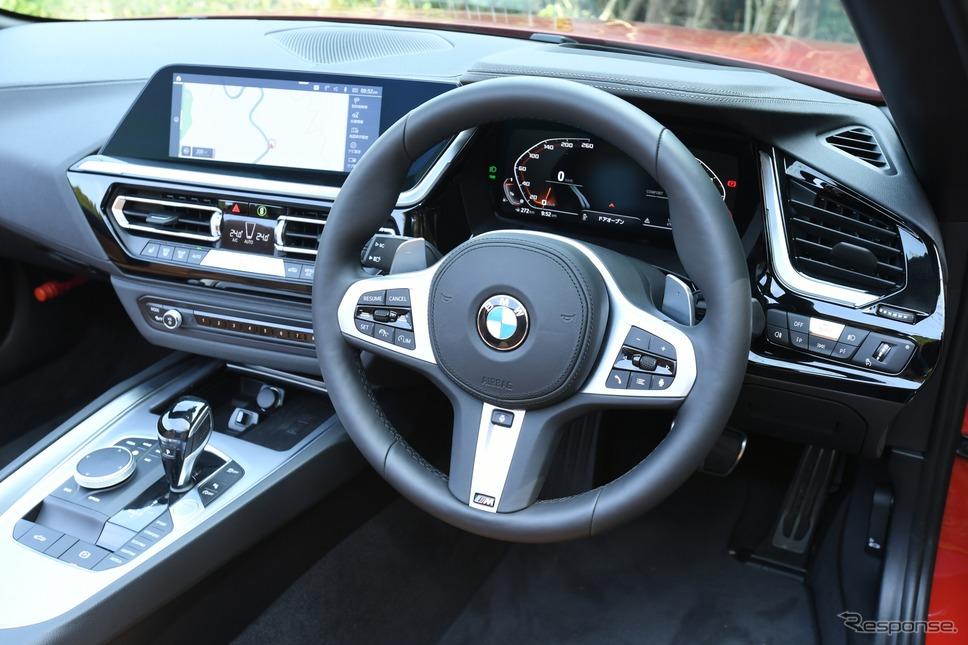 BMW Z4 新型(M40i)《撮影 安藤貴史》