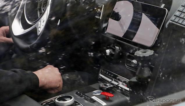 アストンマーティン DBX 市販型プロトタイプ スクープ写真《APOLLO NEWS SERVICE》