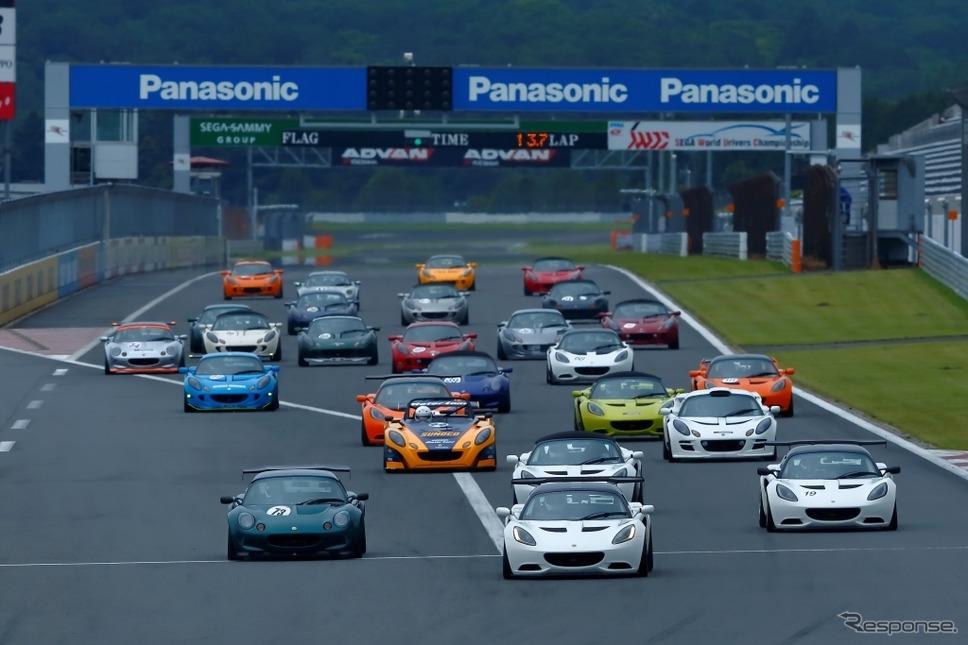レースの様子(過去の開催から)《写真 富士スピードウェイ》