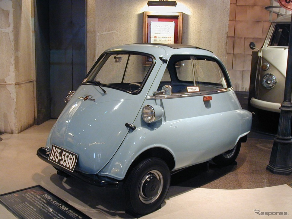 BMWイセッタ(1960年)《画像:MEGA WEB》