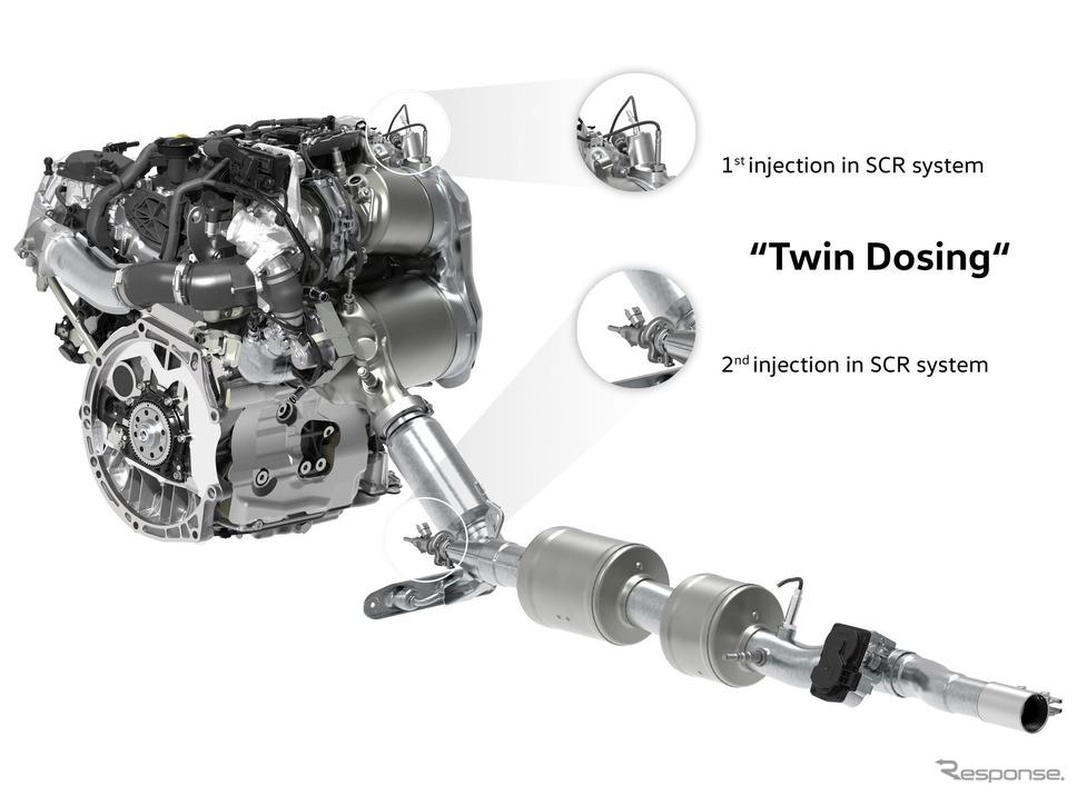 新型VWゴルフに搭載される新開発のクリーンディーゼルエンジン《photo by Volkswagen》
