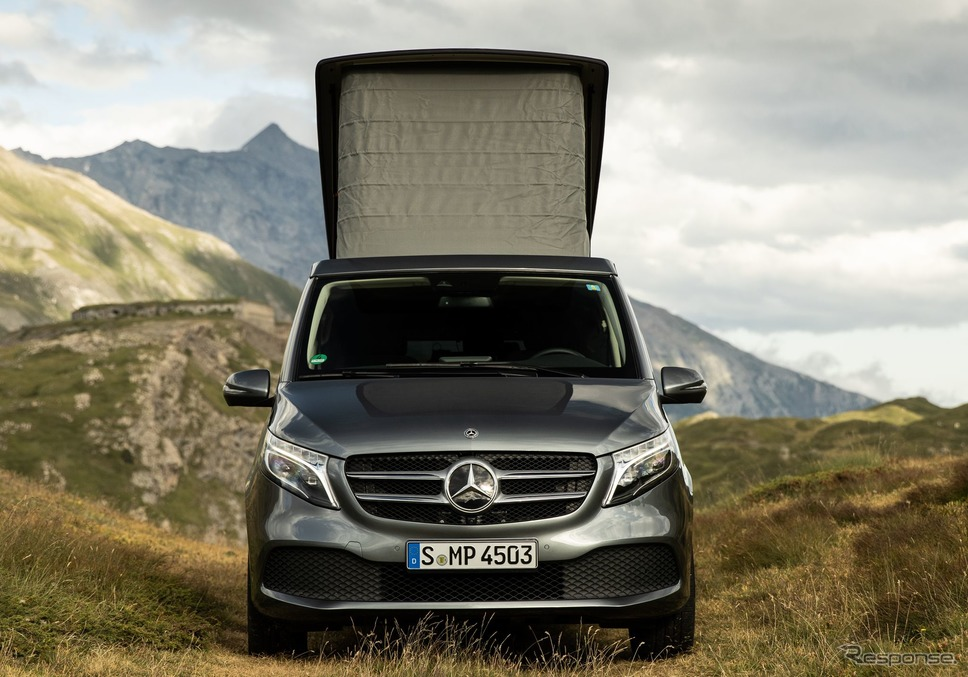 メルセデスベンツ Vクラス 改良新型の「マルコポーロ」《photo by Mercedes-Benz》