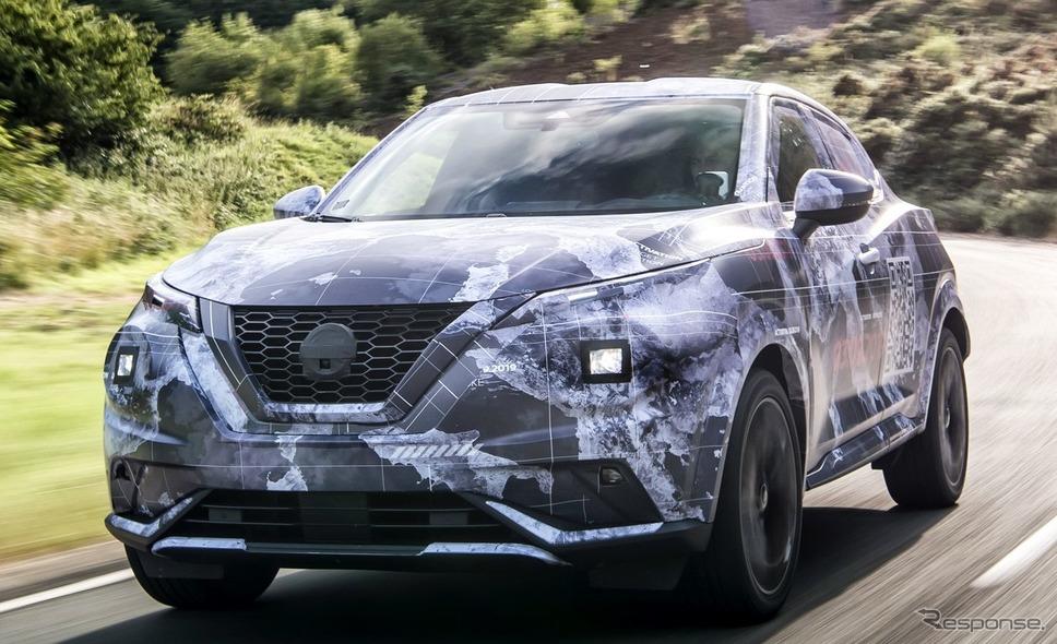 日産ジューク新型のプロトタイプ《photo by Nissan》