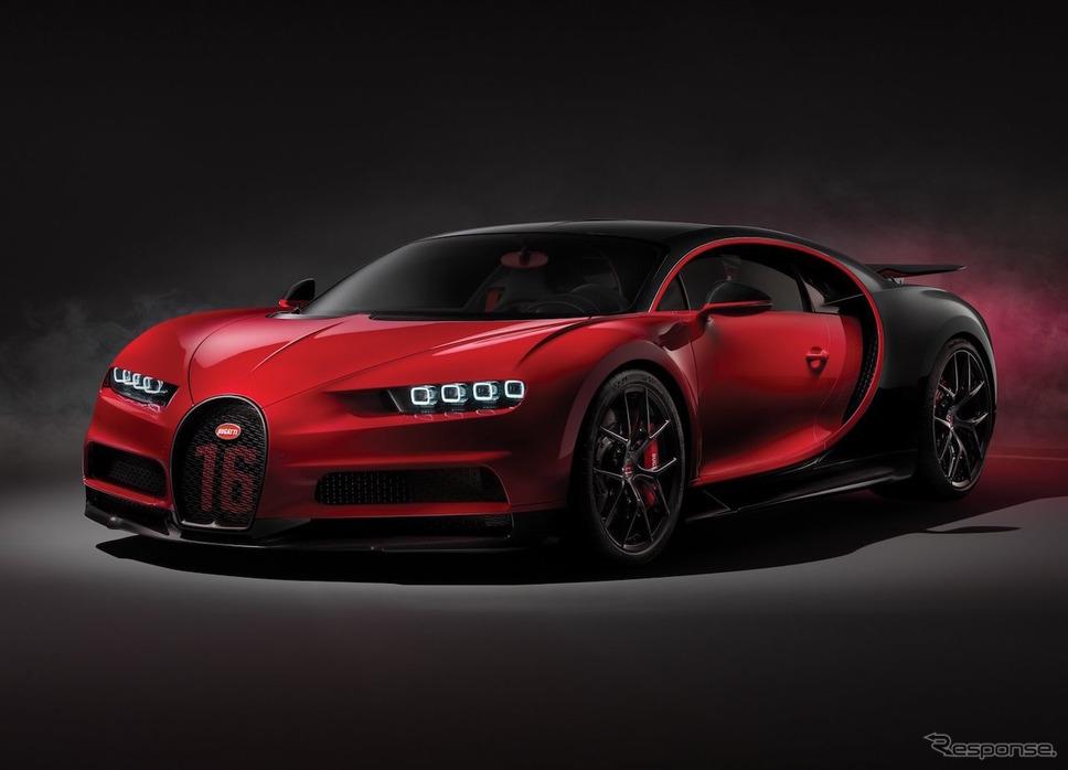 ブガッティ シロン スポーツ(参考画像)《photo by Bugatti》