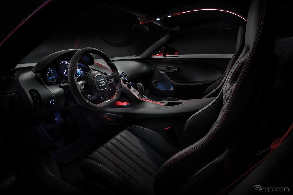 ブガッティ・シロン・スポーツ《photo by Bugatti》