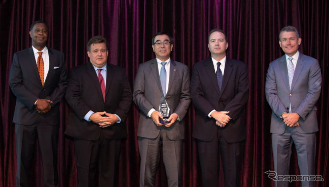 アルパインが米FCA社のサプライヤー・オブ・ザ・イヤーを受賞《画像:アルプスアルパイン》