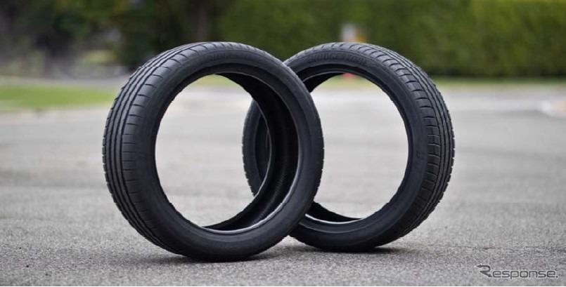 タイヤ軽量化の新技術「エンライトン」(参考画像)《画像:ブリヂストン》