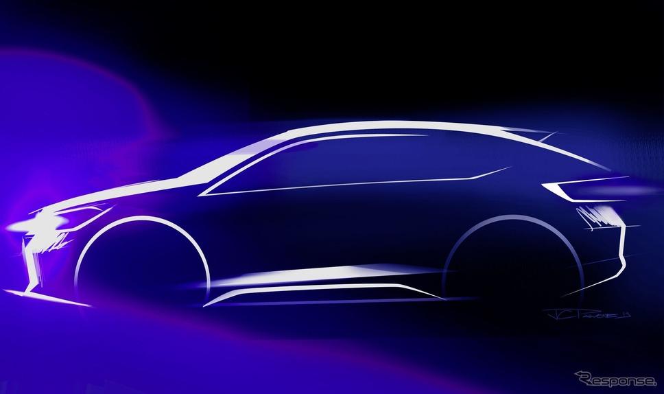 フォルクスワーゲンの新型SUVクーペ「ニューアーバンクーペ」のイメージスケッチ《photo by VW》