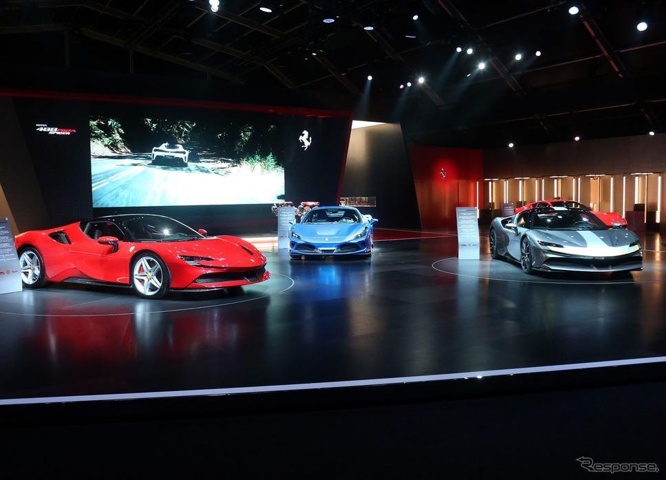 イタリアで開幕した「Universo Ferrari」。SF90ストラダーレを欧州初公開《photo by Ferrari》