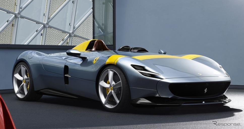 フェラーリ・モンツァ SP1《photo by Ferrari》