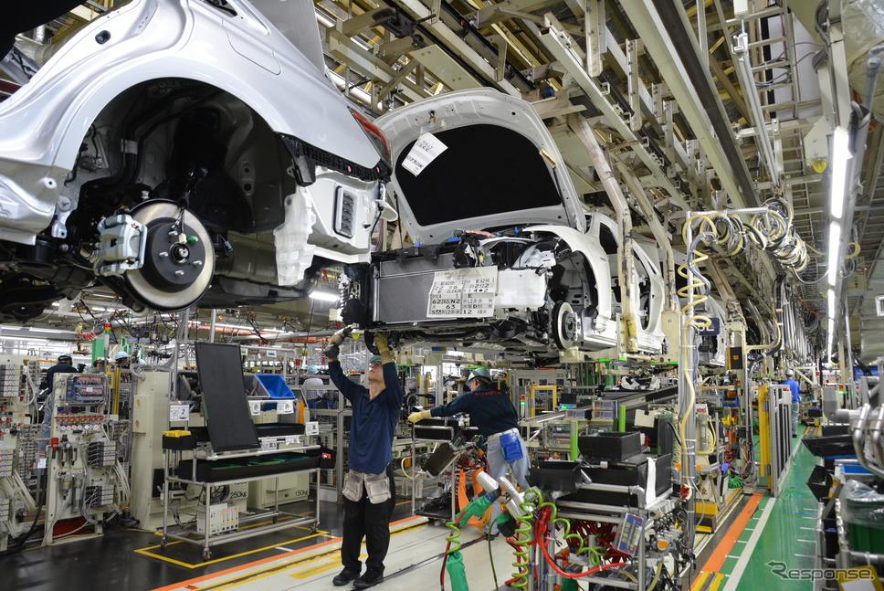 トヨタ自動車元町工場《写真 トヨタ自動車》