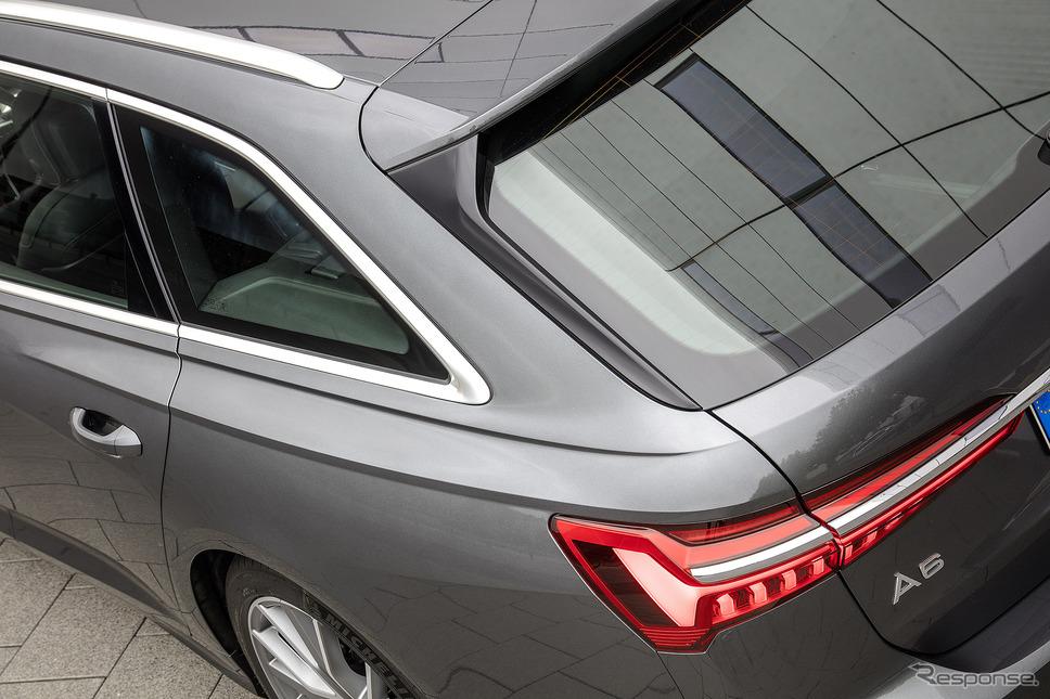 アウディ A6アバント 新型(写真は海外仕様)《photo by Audi》
