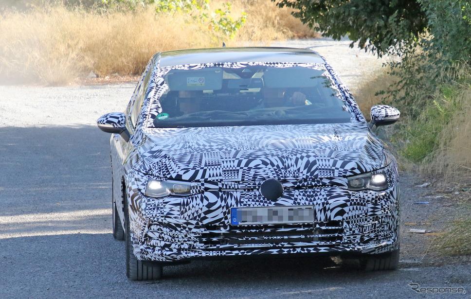VW ゴルフ GTE 新型スクープ写真《APOLLO NEWS SERVICE》