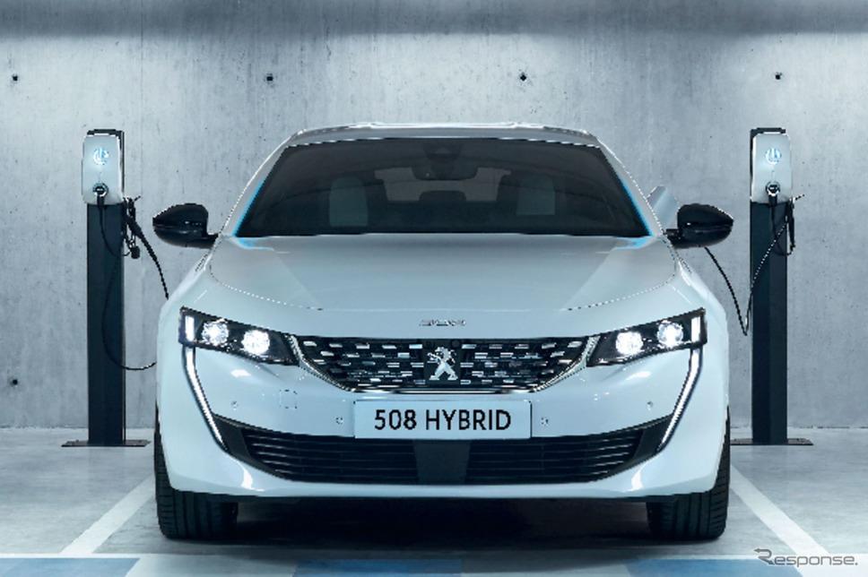 プジョー 508 ハイブリッド《photo by Peugeot》