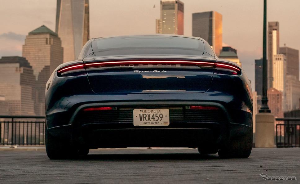 ポルシェ・タイカン《photo by Porsche》