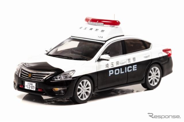 日産 ティアナ(L33)2018 埼玉県警察地域部自動車警ら隊車両(109)《画像:ヒコセブン》