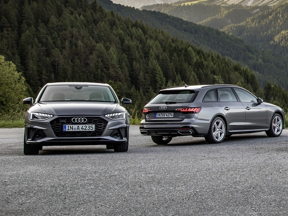 アウディ A4 改良新型《photo by Audi》