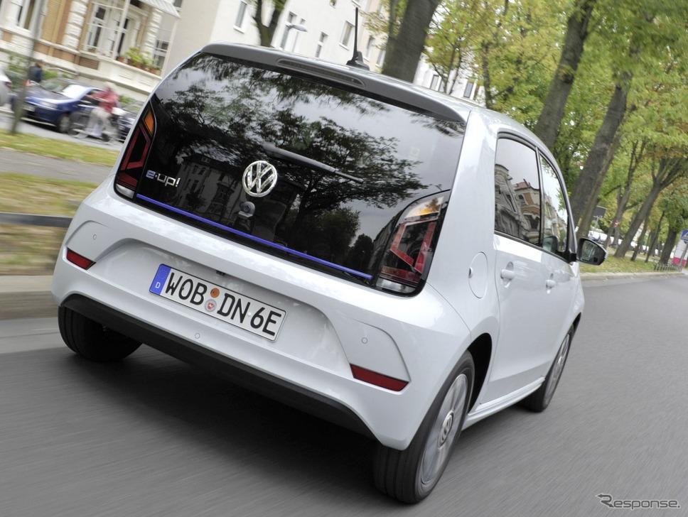 現行フォルクスワーゲン e-up!(参考画像)《photo by VW》