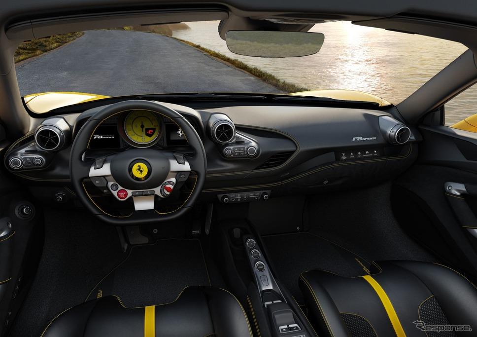 フェラーリF8スパイダー《photo by Ferrari》