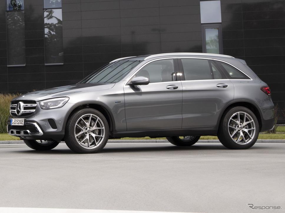 メルセデスベンツGLC改良新型の PHV「GLC 300 e 4MATIC」《photo by Mercedes-Benz》