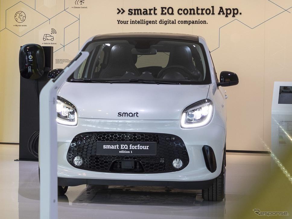 スマート EQ フォーフォー 改良新型(フランクフルトモーターショー2019)《photo by Smart》