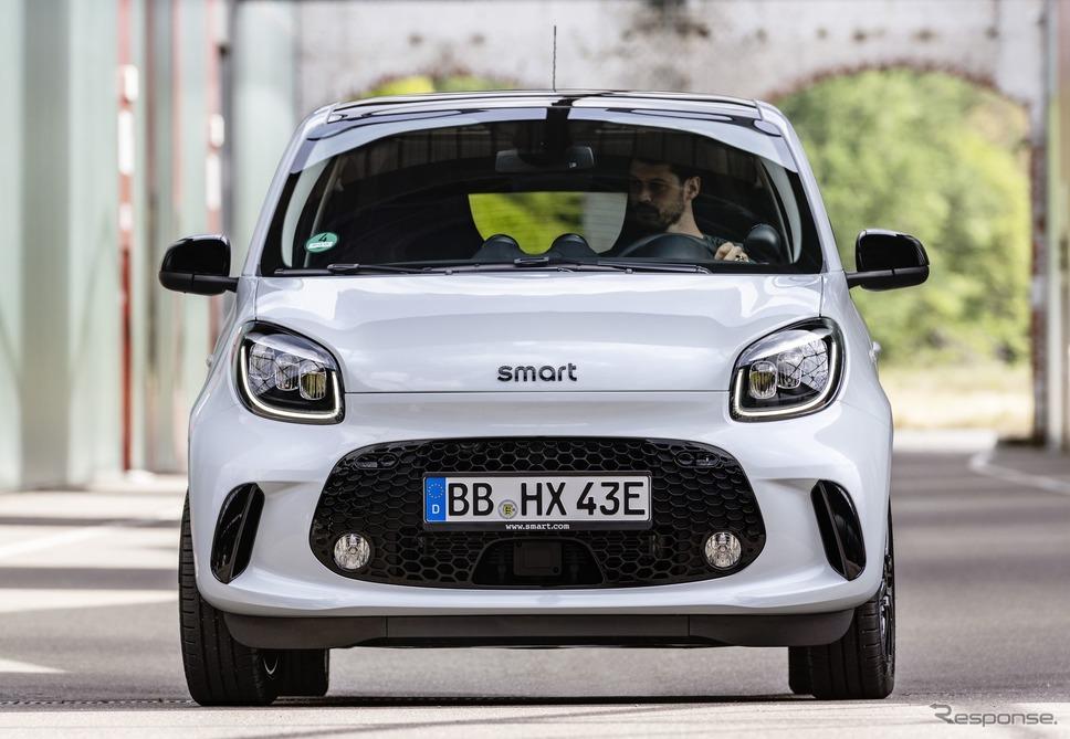 スマート EQ フォーフォー 改良新型《photo by Smart》