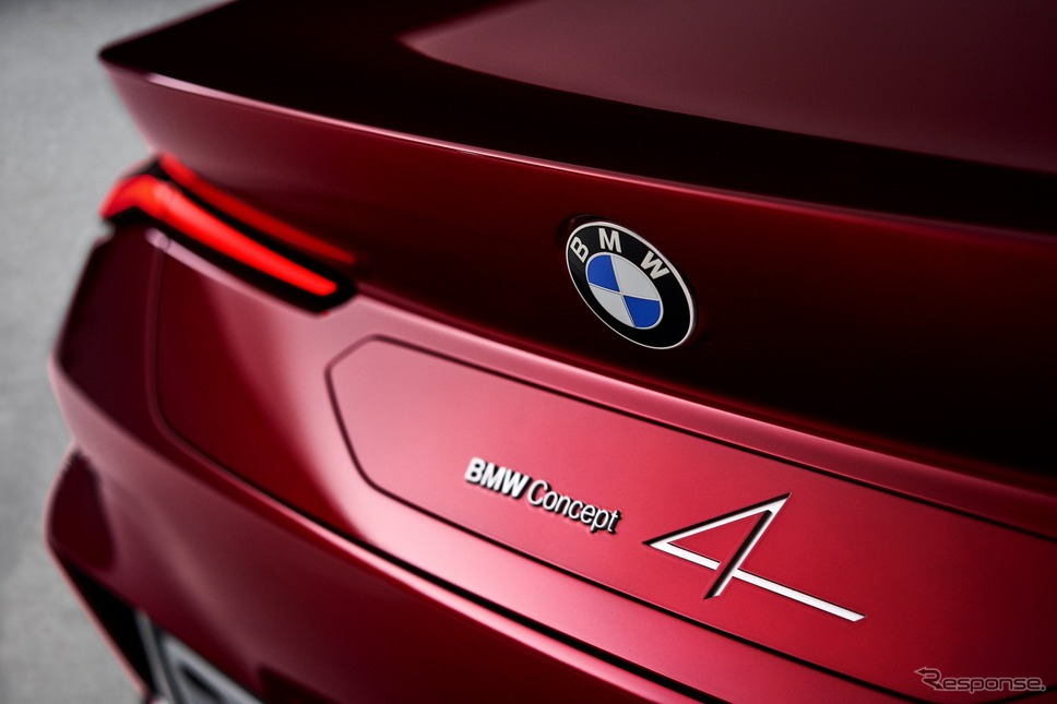 BMWコンセプト4《photo by BMW》