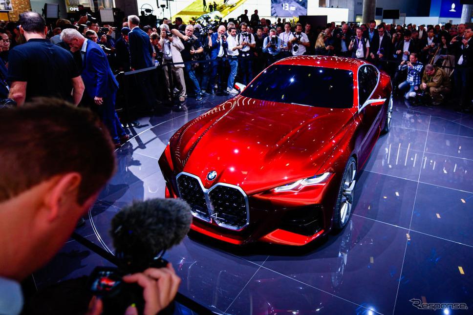 BMWコンセプト4(フランクフルトモーターショー2019)《photo (c) Getty Images》