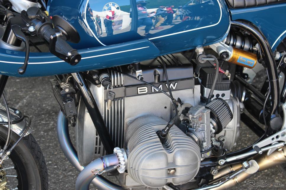 ノスタルジックなボクサーエンジンが男心をくすぐる《撮影 釜田康佑》