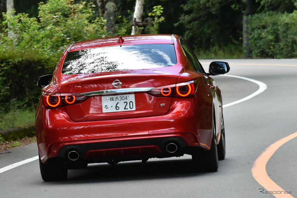 日産 スカイライン 新型(GT Type SP ハイブリッド)《撮影 中野英幸》