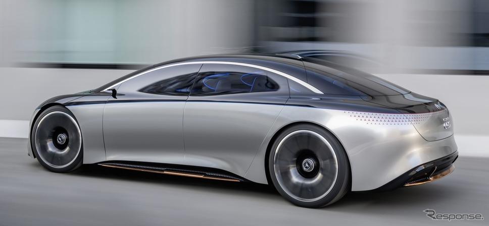 メルセデスベンツ・ヴィジョン EQS《photo by Mercedes-Benz》