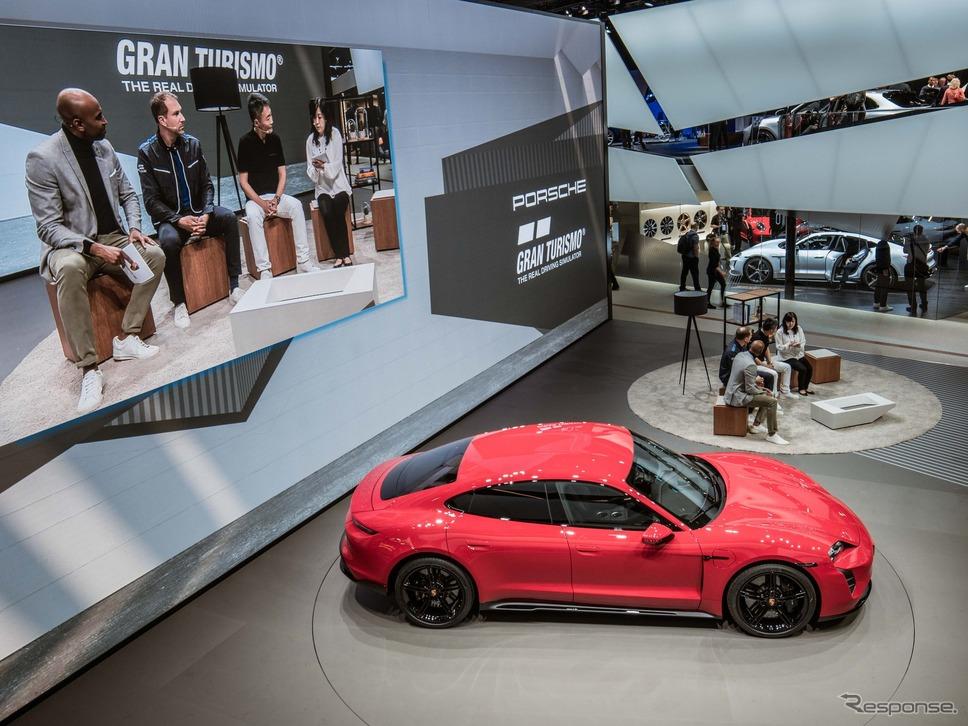 ポルシェとポリフォニー・デジタルが戦略的提携を拡大すると発表(フランクフルトモーターショー2019)《photo by Porsche》