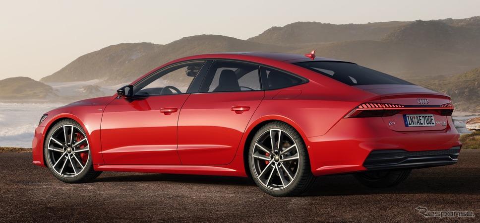 アウディ A7 スポーツバック 新型のPHV「55 TFSI e クワトロ」《photo by Audi》