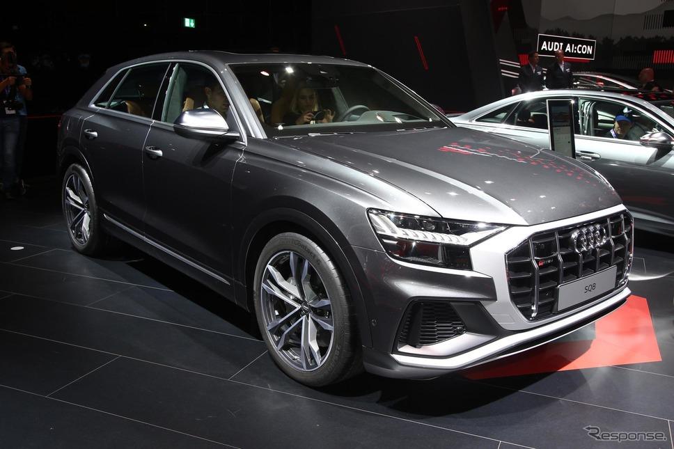 アウディ SQ8(フランクフルトモーターショー2019)《photo by Audi》