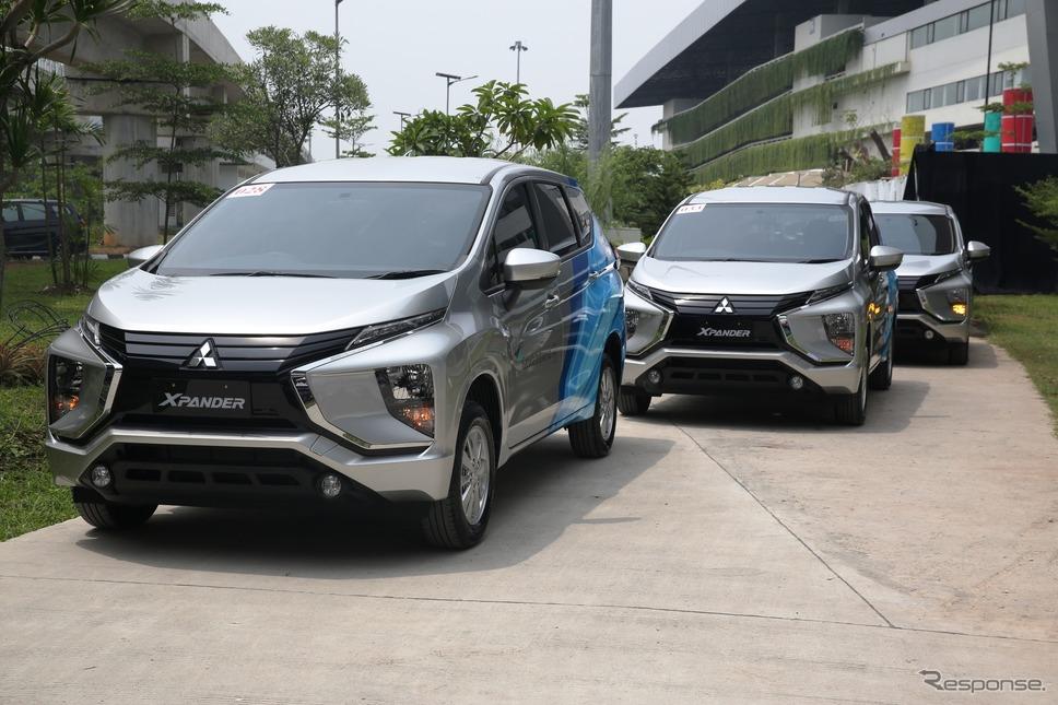 三菱エクスパンダー(インドネシア仕様)《画像:三菱自動車》