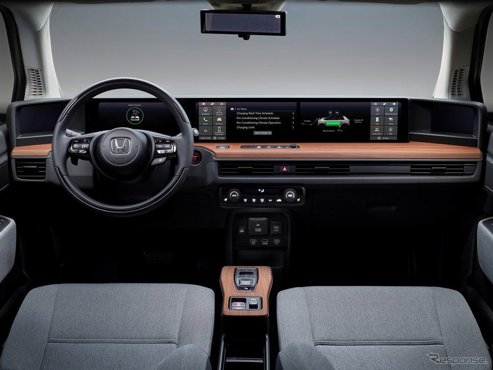 ホンダ e の量産モデル《photo by Honda》