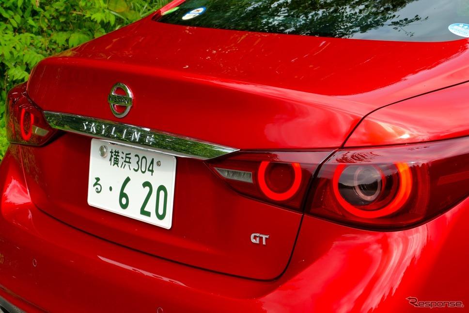 日産 スカイライン GT Type SP(ハイブリッド)《撮影 島崎七生人》