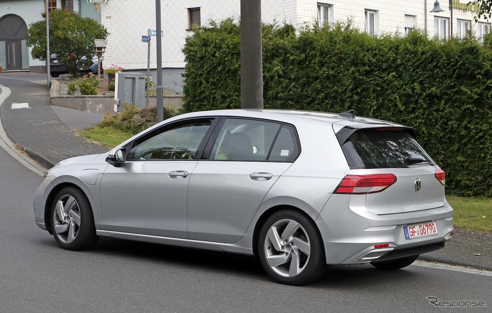 VW ゴルフ GTE 新型(スクープ写真)《APOLLO NEWS SERVICE》