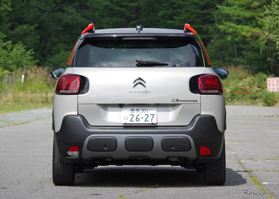 シトロエン C3 エアクロス SUV《撮影 宮崎壮人》