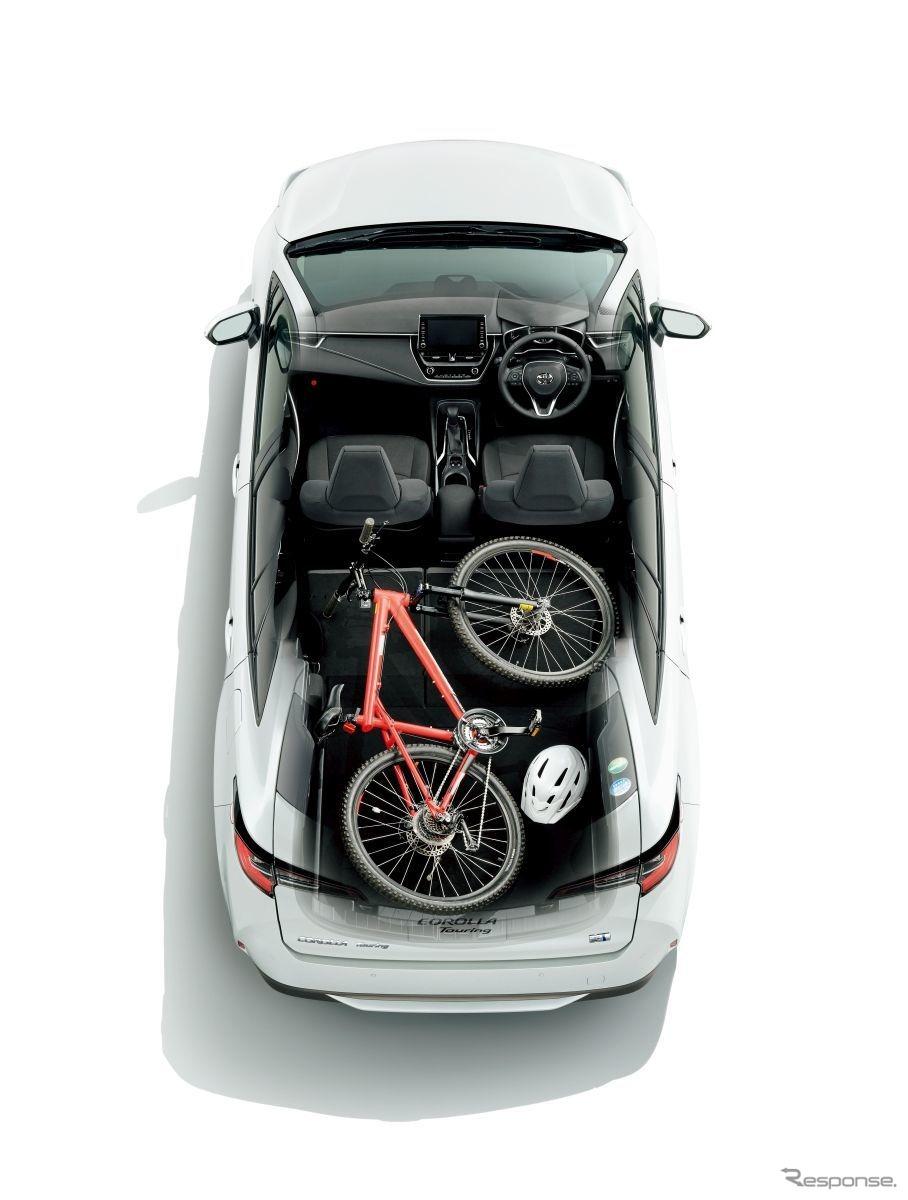 トヨタ・カローラセダン、ツーリング発表《写真提供:トヨタ自動車》