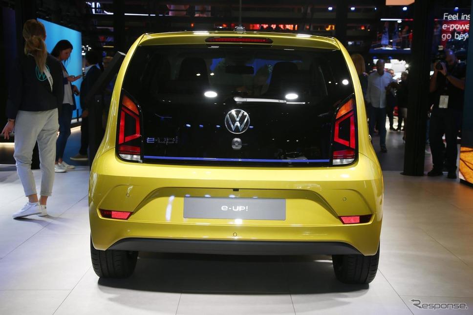 フォルクスワーゲン e-up!改良新型(フランクフルトモーターショー2019)《photo by VW》