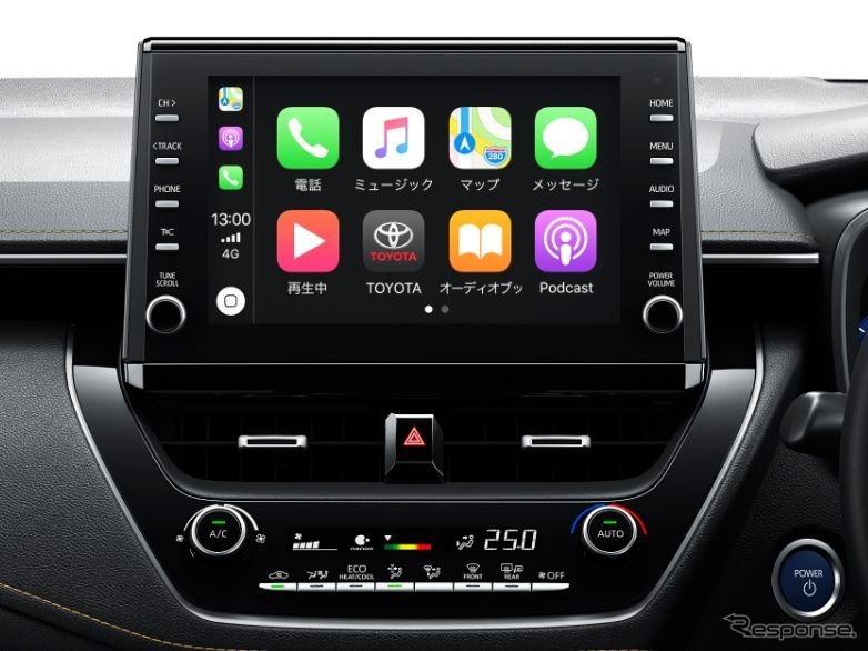 トヨタ・カローラ、ディスプレイオーディオ《画像:トヨタ自動車》