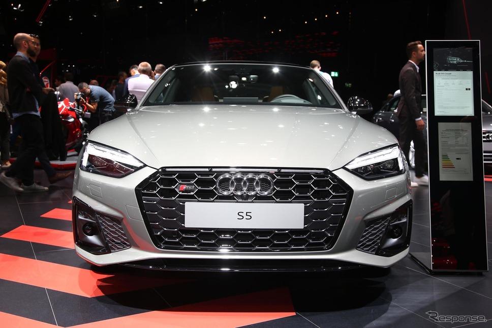 アウディ S5 クーペ TDI 改良新型(フランクフルトモーターショー2019)《photo by Audi》