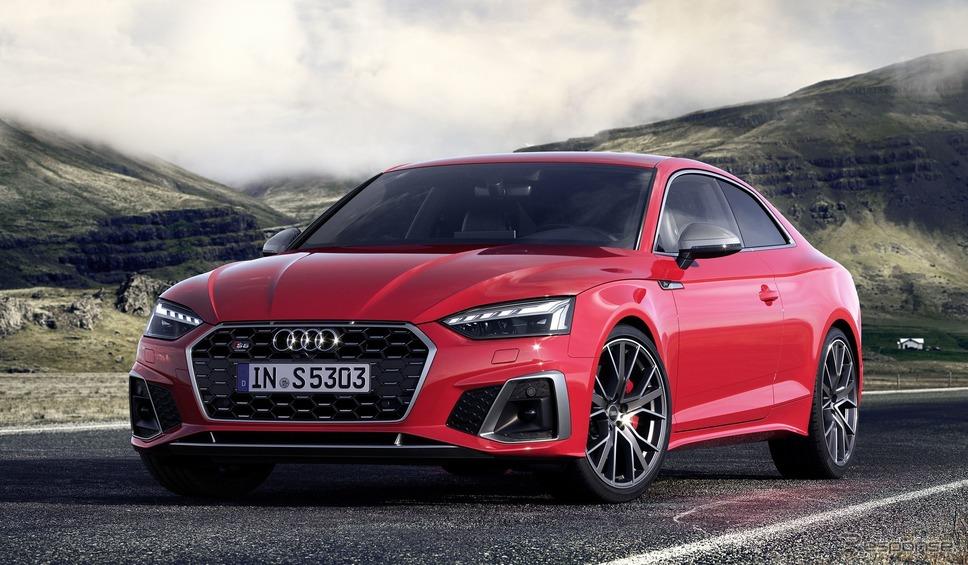 アウディ S5 クーペ TDI 改良新型《photo by Audi》