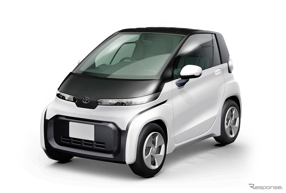 トヨタが市販化を計画している小型EV《画像 トヨタ自動車》